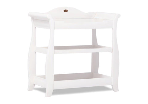 Image of Boori Sleigh 3 Tier changer - White - The Stork Has Landed