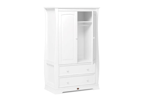 Image of Boori Sleigh Wardrobe - White