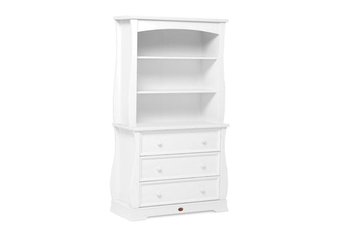 Boori Sleigh 3 Drawer Dresser - White - The Stork Has Landed