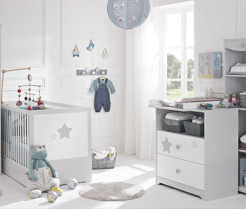 Image of Galipette Sweet Nights 2 Piece Set (70x140cm) - The Stork Has Landed