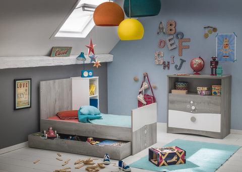 Galipette Gaia Compact Cot Bed - The Stork Has Landed
