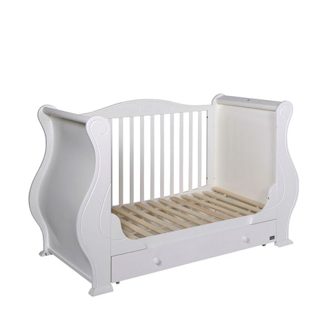 Tutti Bambini - Louis Cot Bed, White - The Stork Has Landed