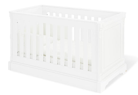 Image of Pinolino Emilia 2 Piece Set - Cot and Changing Unit - The Stork Has Landed
