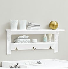 Image of Pinolino Emilia Wall Shelf - The Stork Has Landed