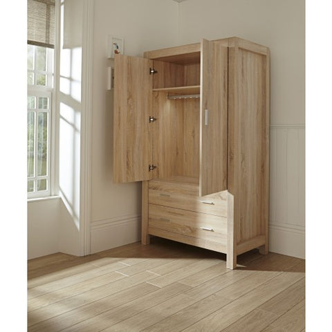 Tutti Bambini - Milan Wardrobe - Reclaimed Oak - The Stork Has Landed