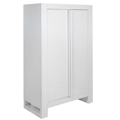 Image of Tutti Bambini - Rimini Wardrobe - Gloss White - The Stork Has Landed