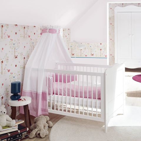 Pinolino Fluer Cot Bed - The Stork Has Landed