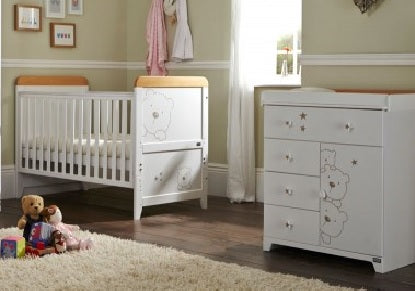 Image of Tutti Bambini - Bears 2 Piece Set - The Stork Has Landed