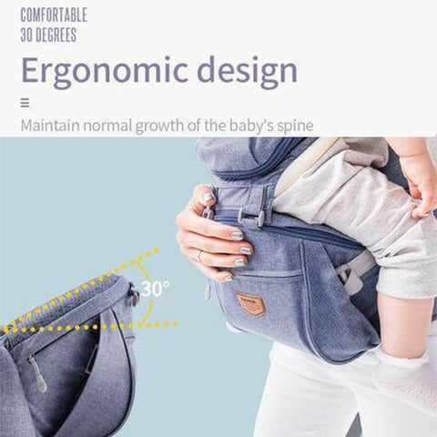 Ergodynamic HipSeat Baby Carrier (6-in-1) - The Stork Has Landed