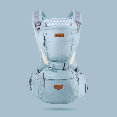 Image of Ergodynamic HipSeat Baby Carrier (6-in-1) - The Stork Has Landed