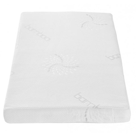Image of Tutti Bambini - Coir Fibre Cot Bed Mattress - The Stork Has Landed