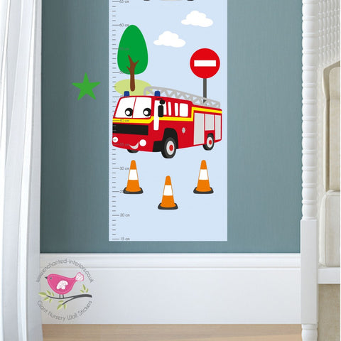 Image of Emergency Services Kids Growth Chart - The Stork Has Landed