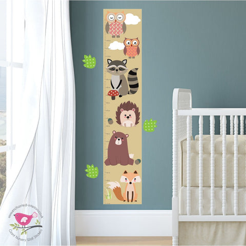 Image of Enchanted Forest Nursery Wall Decals