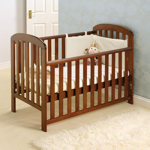 East Coast Anna Dropside Cot - Grey - The Stork Has Landed
