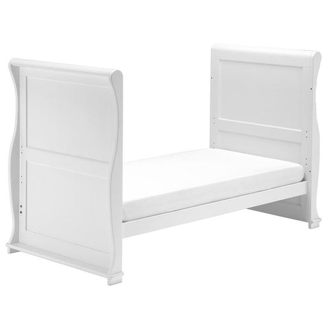 East Coast - Alaska Sleigh White 2 Piece Set - The Stork Has Landed