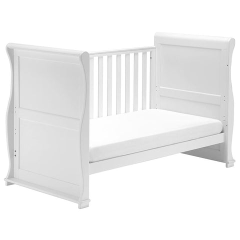 Image of East Coast - Alaska Sleigh White 2 Piece Set - The Stork Has Landed