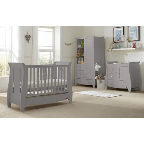 Image of Tutti Bambini - Katie 5 Piece Set Grey - The Stork Has Landed