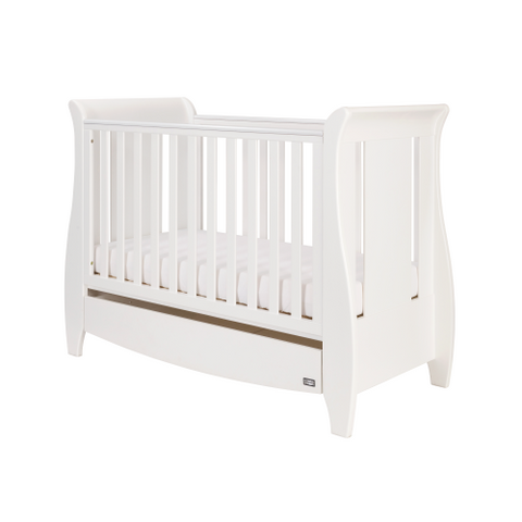 Tutti Bambini - Katie Cot Bed, White with Sprung Mattress