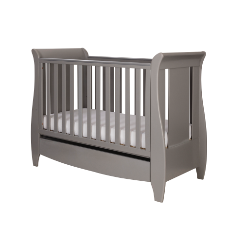 Tutti Bambini Katie Cot Bed Cool Grey - The Stork Has Landed