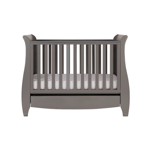Image of Tutti Bambini Katie 3 Piece Set, Grey with Sprung Mattress