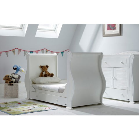 Tutti Bambini - Louis Cot Bed in White - The Stork Has Landed