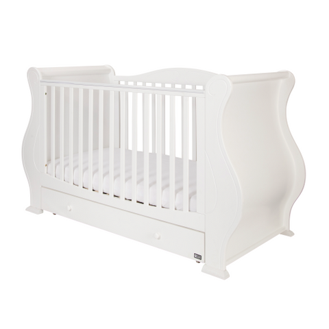 Image of Tutti Bambini - Louis Cot Bed in White