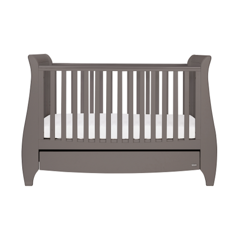 Image of Tutti Bambini - Lucas Cot Bed Grey - The Stork Has Landed