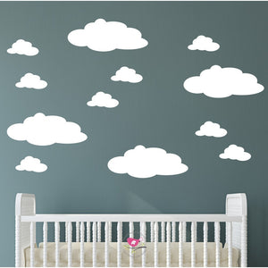 Magical Clouds Wall Stickers - The Stork Has Landed