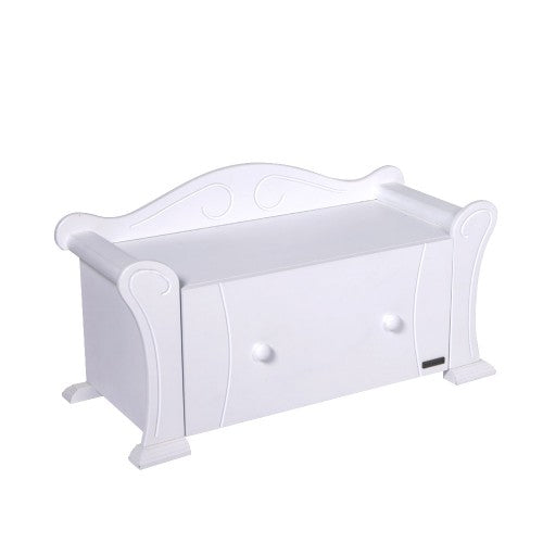 Tutti Bambini - Marie Toy Box - White - The Stork Has Landed
