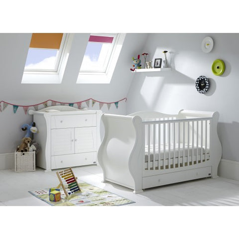 Tutti Bambini Marie 2 Piece Room Set - White - The Stork Has Landed