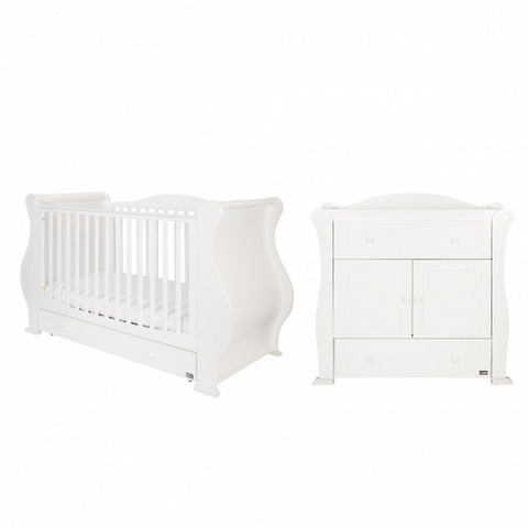 Image of Tutti Bambini Marie 2 Piece Room Set - White
