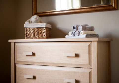 Boori 3 Drawer dresser - Almond
