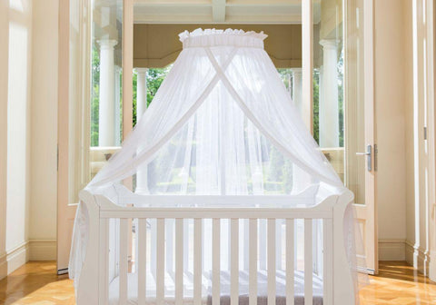 Image of Boori Sleigh Cot bed - White