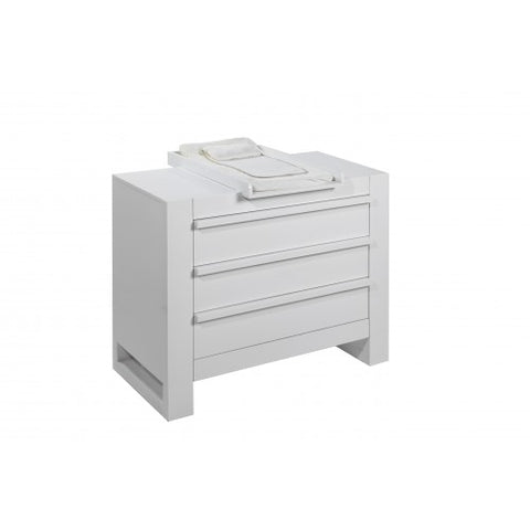 Image of Tutti Bambini - Rimini Chest Changer - Gloss White - The Stork Has Landed