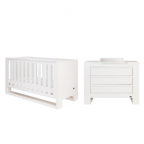 Tutti Bambini - Rimini 2 Piece Set with Sprung Mattress
