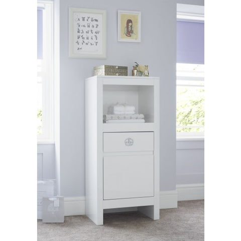 Image of Tutti Bambini - Sovereign Tallboy - High Gloss White - The Stork Has Landed