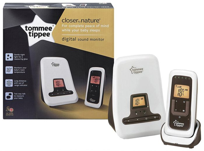 Tommee Tippee Closer to Nature DECT Digital Video & Movement Monitor - The Stork Has Landed
