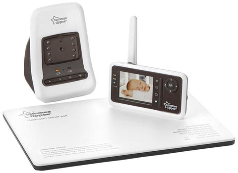 Image of Tommee Tippee Closer to Nature DECT Digital Video & Movement Monitor