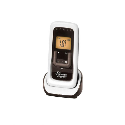 Image of Tommee Tippee Closer to Nature DECT Digital Video & Movement Monitor - The Stork Has Landed