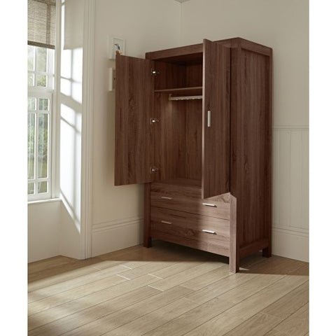 Tutti Bambini - Milan Wardrobe - Walnut - The Stork Has Landed