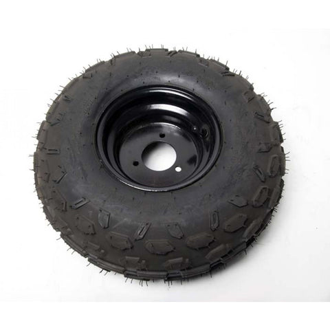 Mini-Blazer 145/70-6 Tire & Black Rim