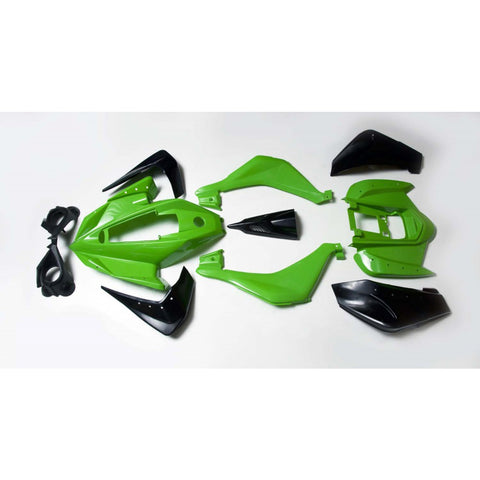 T1 Rebel Lime Plastic Fender Body Kit