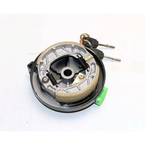 Italia MK Rear Drum Brakes w/ Lock