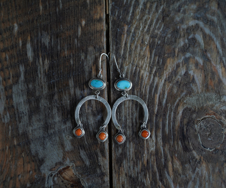 Desert Arch Earrings.