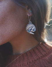 The Sparrow's  Eclipse Earrings.