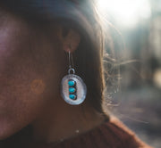 The Full Moon Earrings.