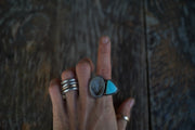 Earth and Sky Ring. 6.75