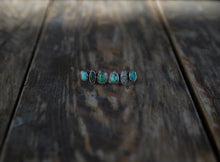 Load image into Gallery viewer, Anew Climber Earrings. American Mined Turquoise goodness