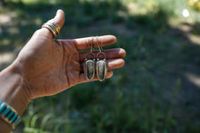 Load image into Gallery viewer, Woodland Earrings. Imperial Jasper+ Reclaimed sterling silver.