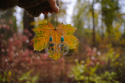 Ginkgo Earrings.